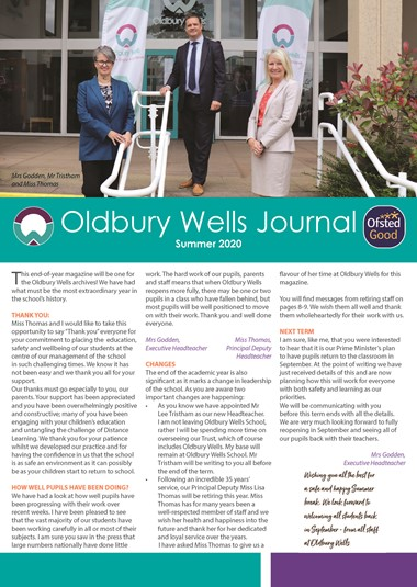 OWS Journal Summer 2020