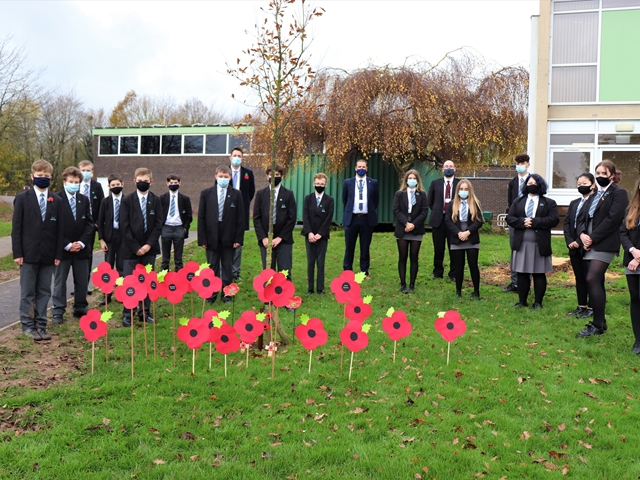 Students reflect on Armistice Day