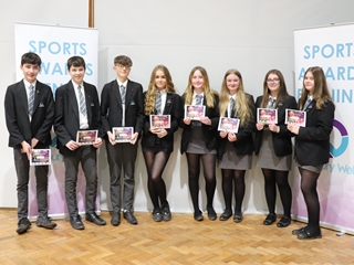 Sports colours awarded to successful students