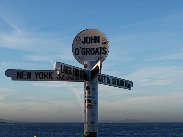 Lands End to John O'Groats
